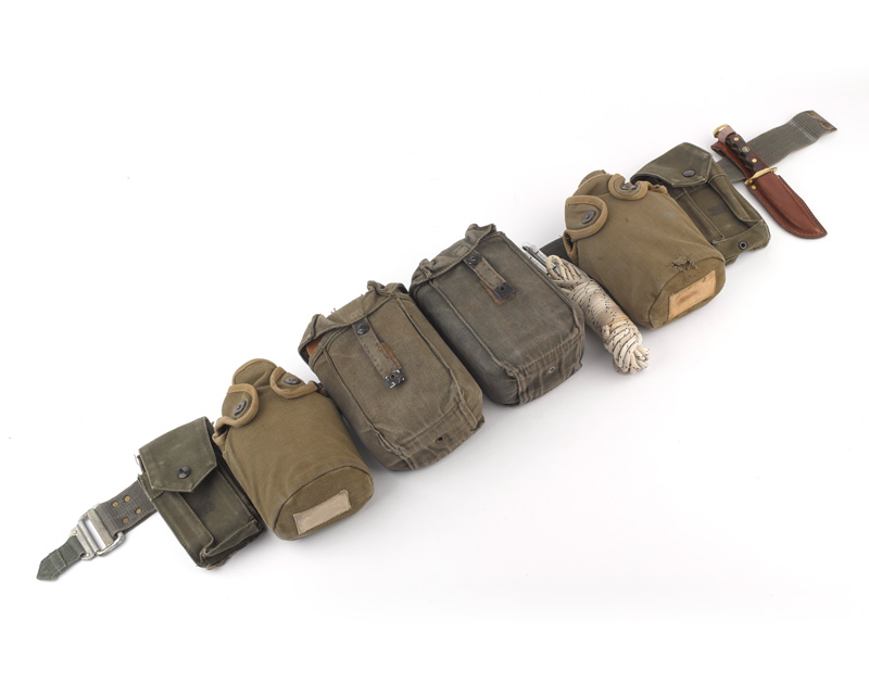 Escape belt used by Major Hugh Gilpin, 21st SAS (Artists) (Volunteers), c1975
