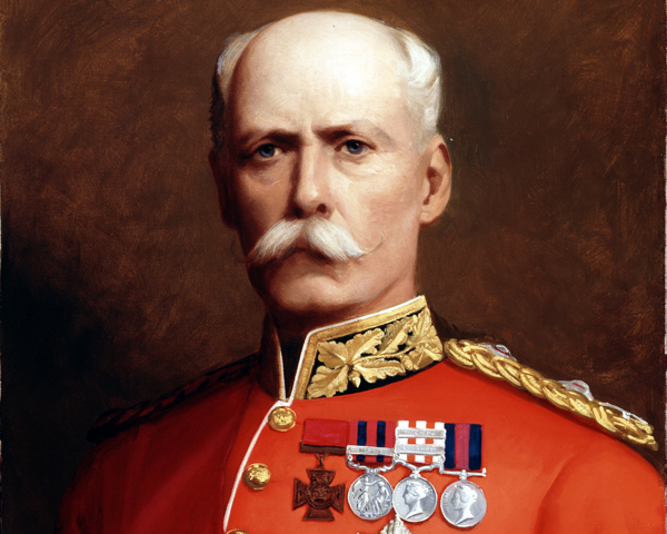 Lieutenant-General Sir Henry Marshman Havelock-Allan VC, Colonel of the Royal Irish Regiment, 1881