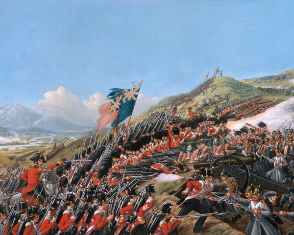 The 7th Royal Fusiliers and the Coldstream Guards at the Alma, 1854