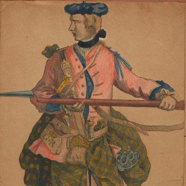 Corporal Samuel McPherson, 42nd Regiment, 1743