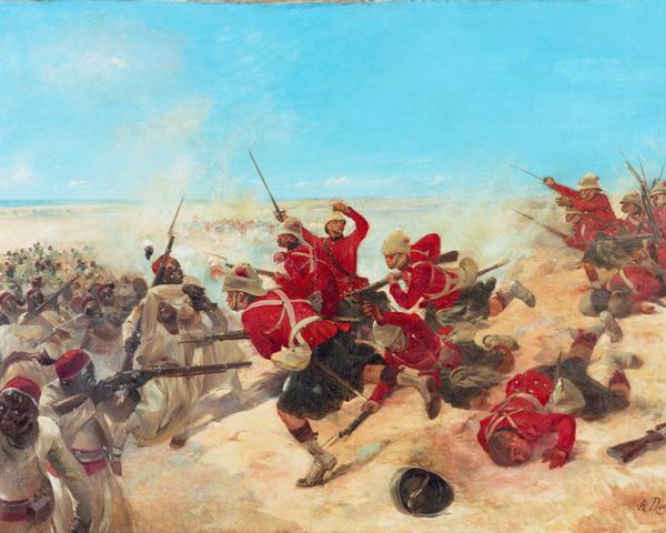 The Black Watch at the Battle of Tel-el-Kebir, 1882