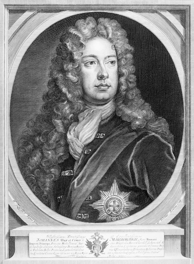 John Churchill, 1st Duke of Marlborough, c1710