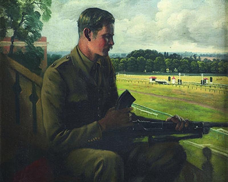 Lieutenant Jock Lewes, 1940