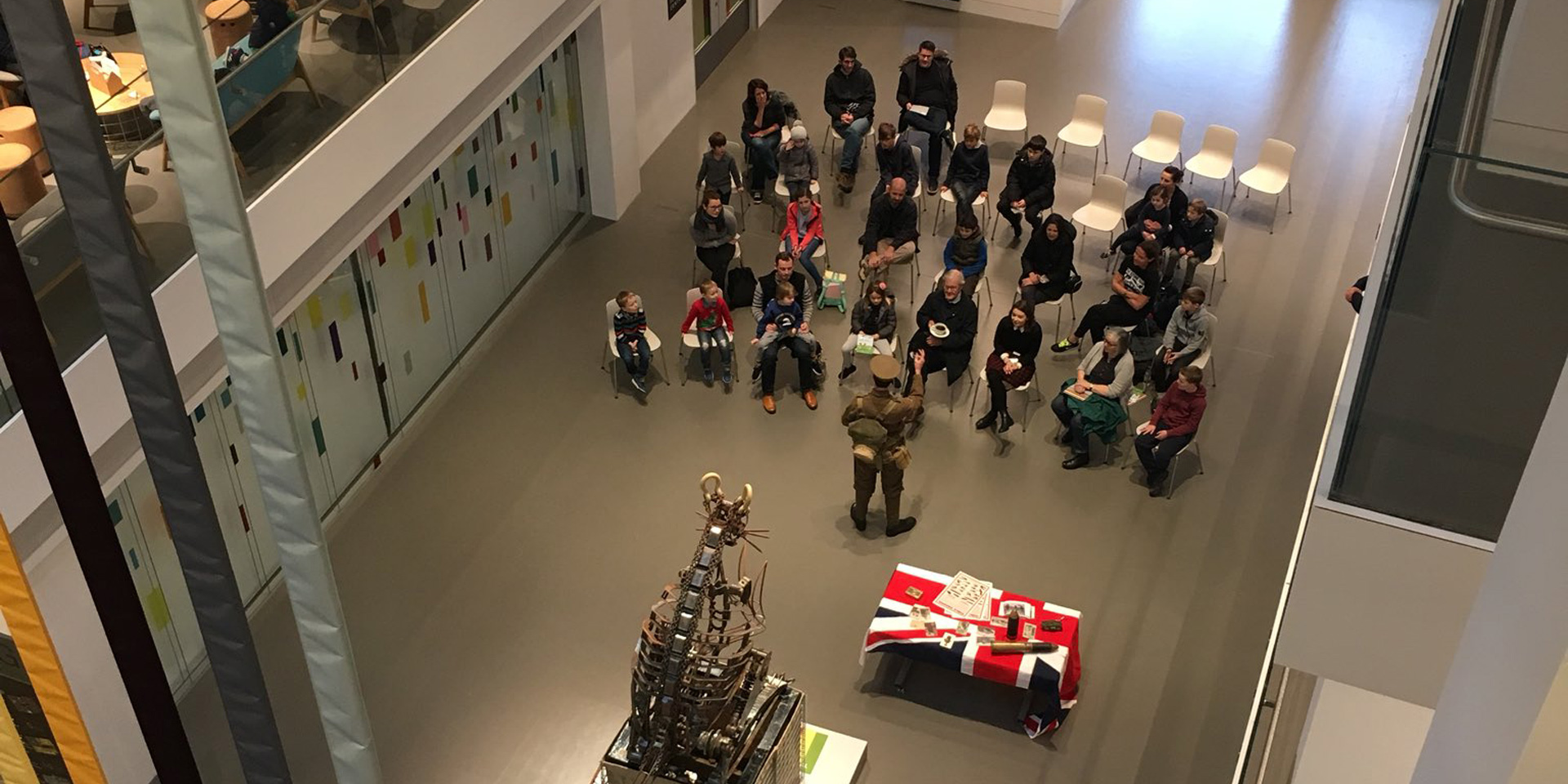 Storytelling at the National Army Museum