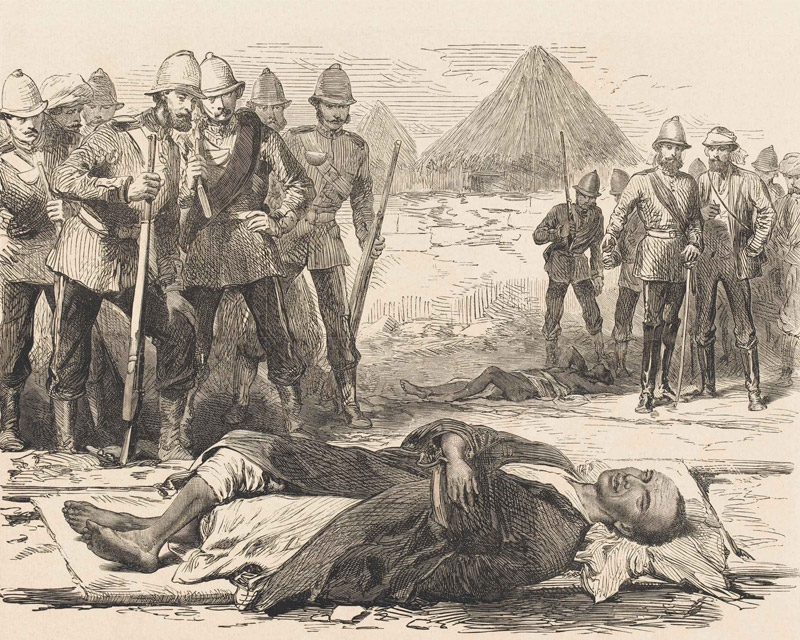 'The End of King Theodore', 1868