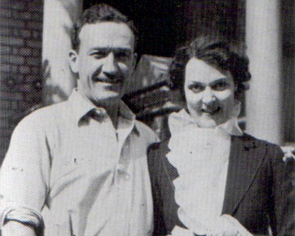 Roger Courtney and his wife Dorrise, 1938