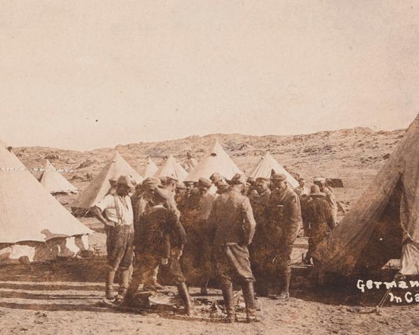 German prisoners at Lüderitz, 1914