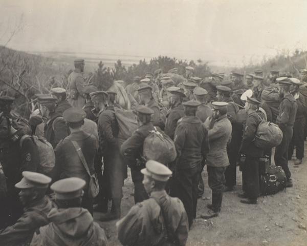 German prisoners, Tsingtao, November 1914