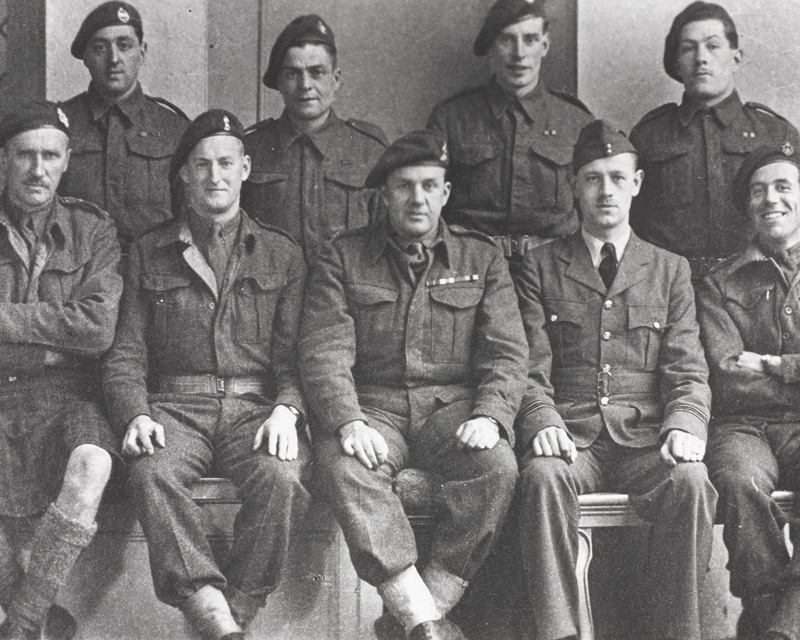 A Special Boat Section team shortly before leaving for Algiers, 1943