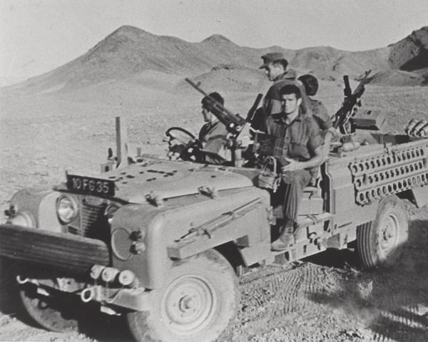 Members of the SAS in the Radfan, c1965
