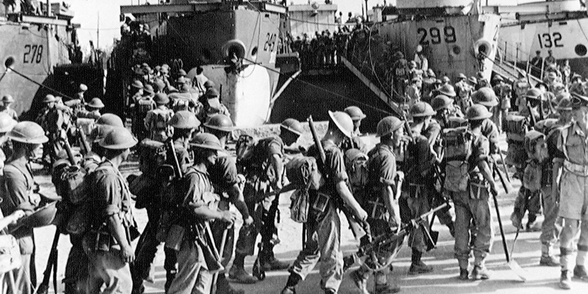 Soldiers at Sousse, 1943