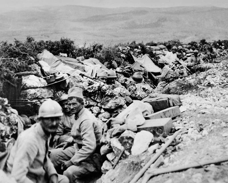 Serbians on the Balkan Front, September 1916