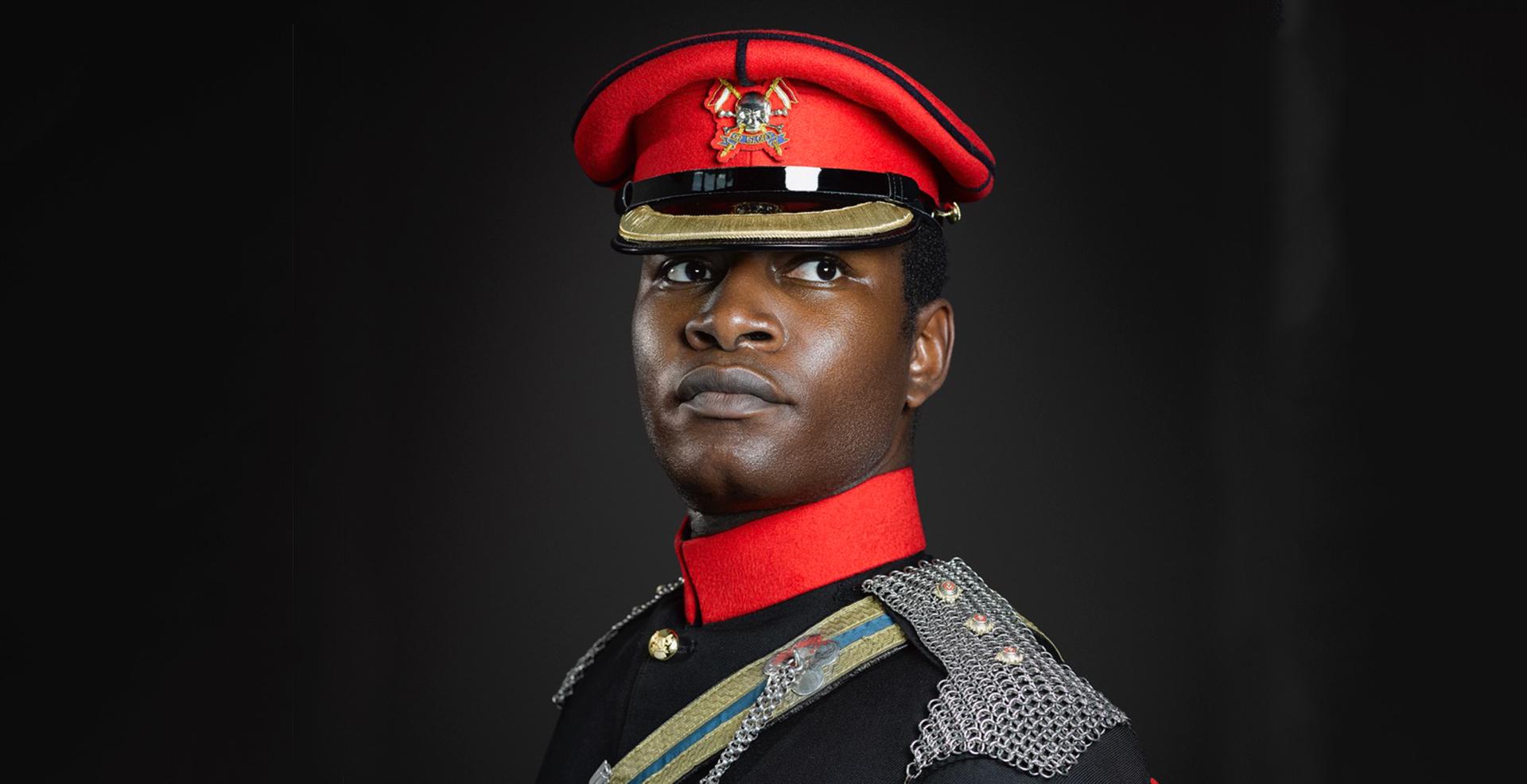 Captain Anani Isaac, Royal Lancers