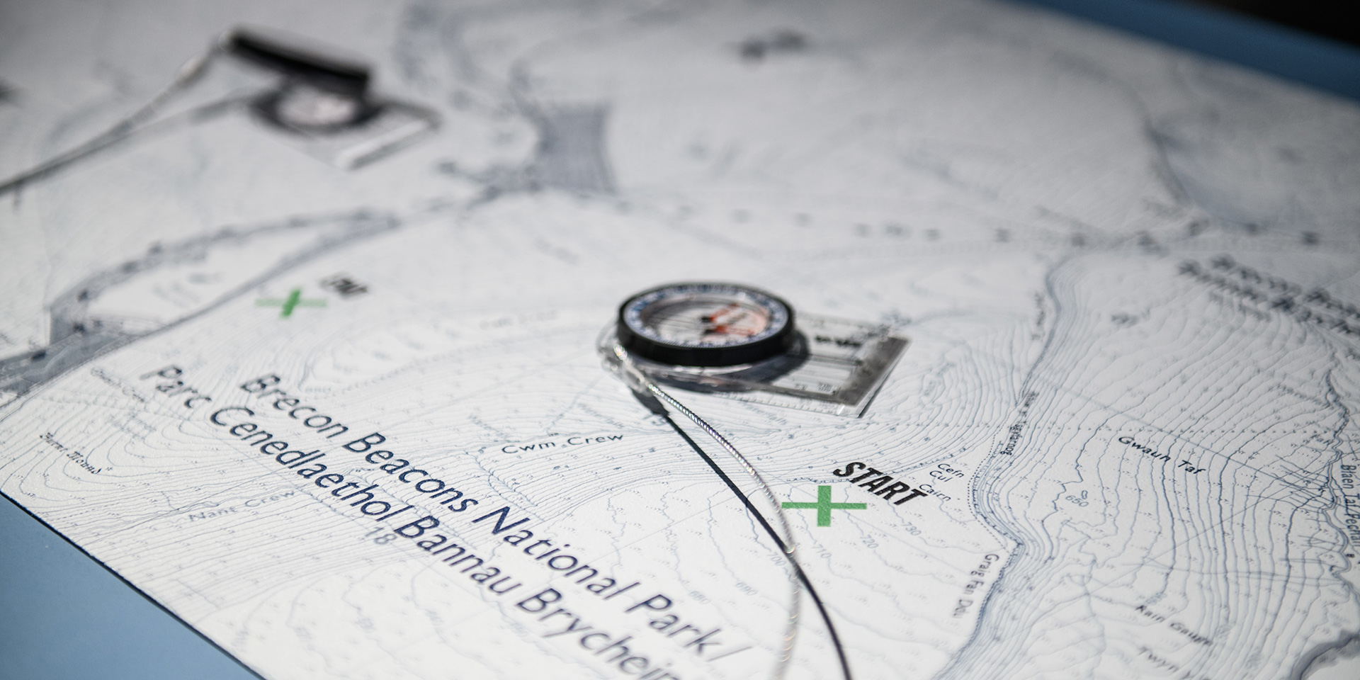 Navigation interactive in special forces exhibition