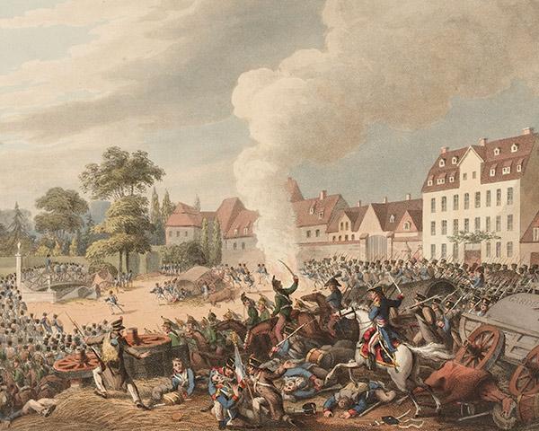 The Battle of Leipzig, 1813