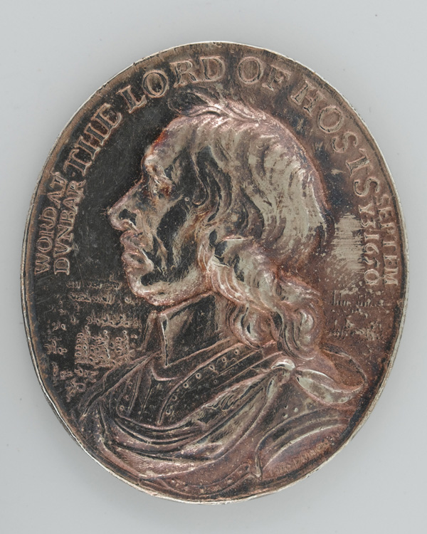 Medal commemorating Cromwell's victory at the Battle of Dunbar in 1650