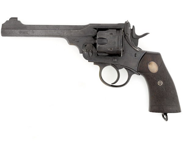 Revolver used by Major-General Charles Townshend in Mesopotamia, c1915