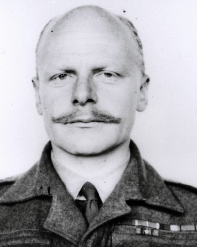Major Herbert 'Blondie' Hasler, c1942