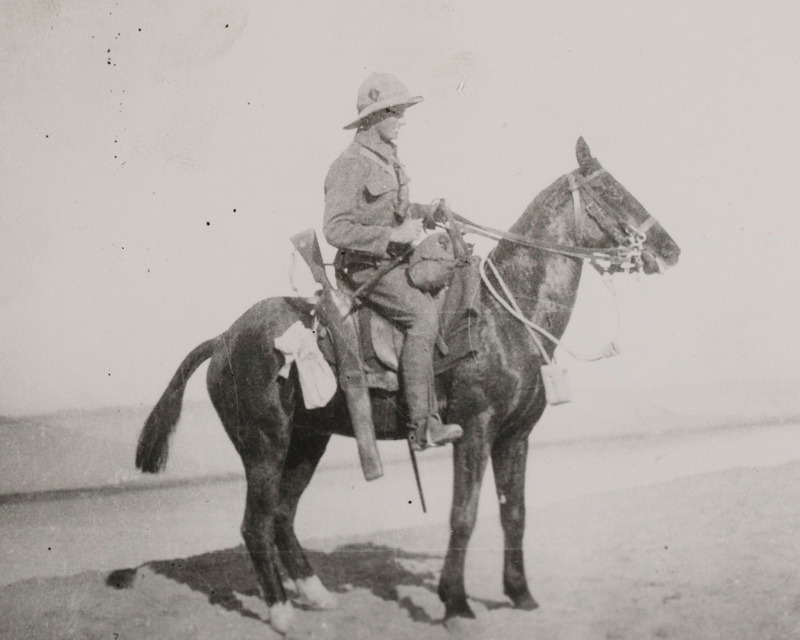 Private William Bowyer of 1/1st Buckinghamshire Yeomanry (Royal Bucks Hussars), 1915