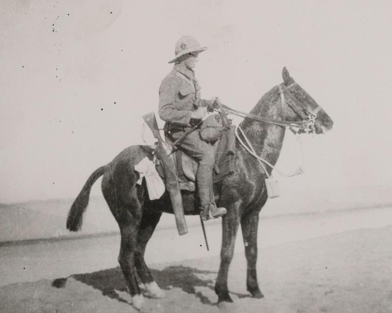 Private William Bowyer of 1/1st Buckinghamshire Yeomanry (Royal Bucks Hussars), 1915