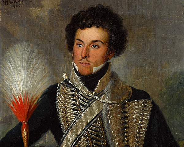 An officer of the 18th Regiment of (Light) Dragoons (Hussars), c1815