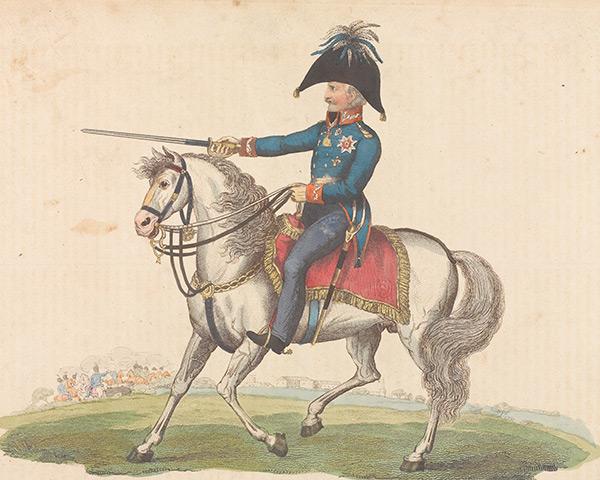Field Marshal Leberecht von Blücher