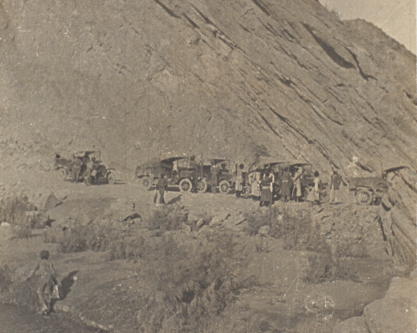 Motor column of the South Persia Rifles, 1918