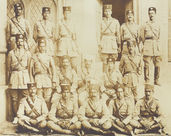 Persian officers of the South Persia Rifles, 1918
