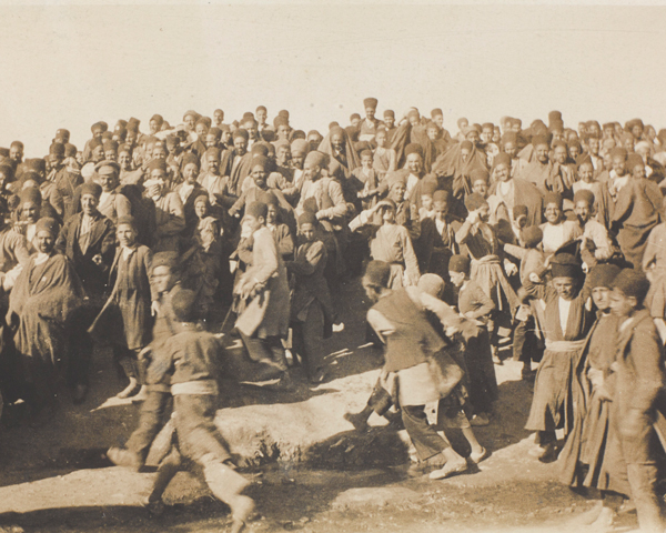 Persians in Abadeh, 1918