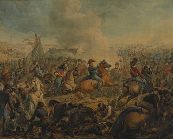 The Battle of Waterloo, 1815