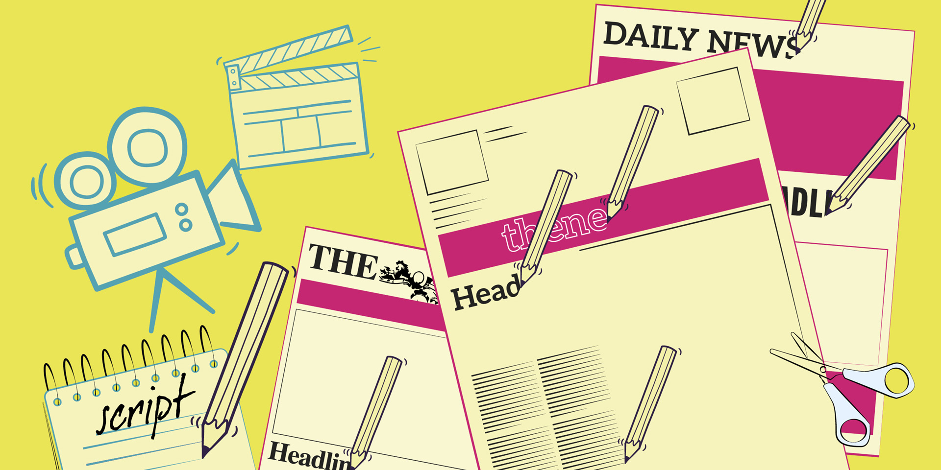 Be a journalist - half-term activity