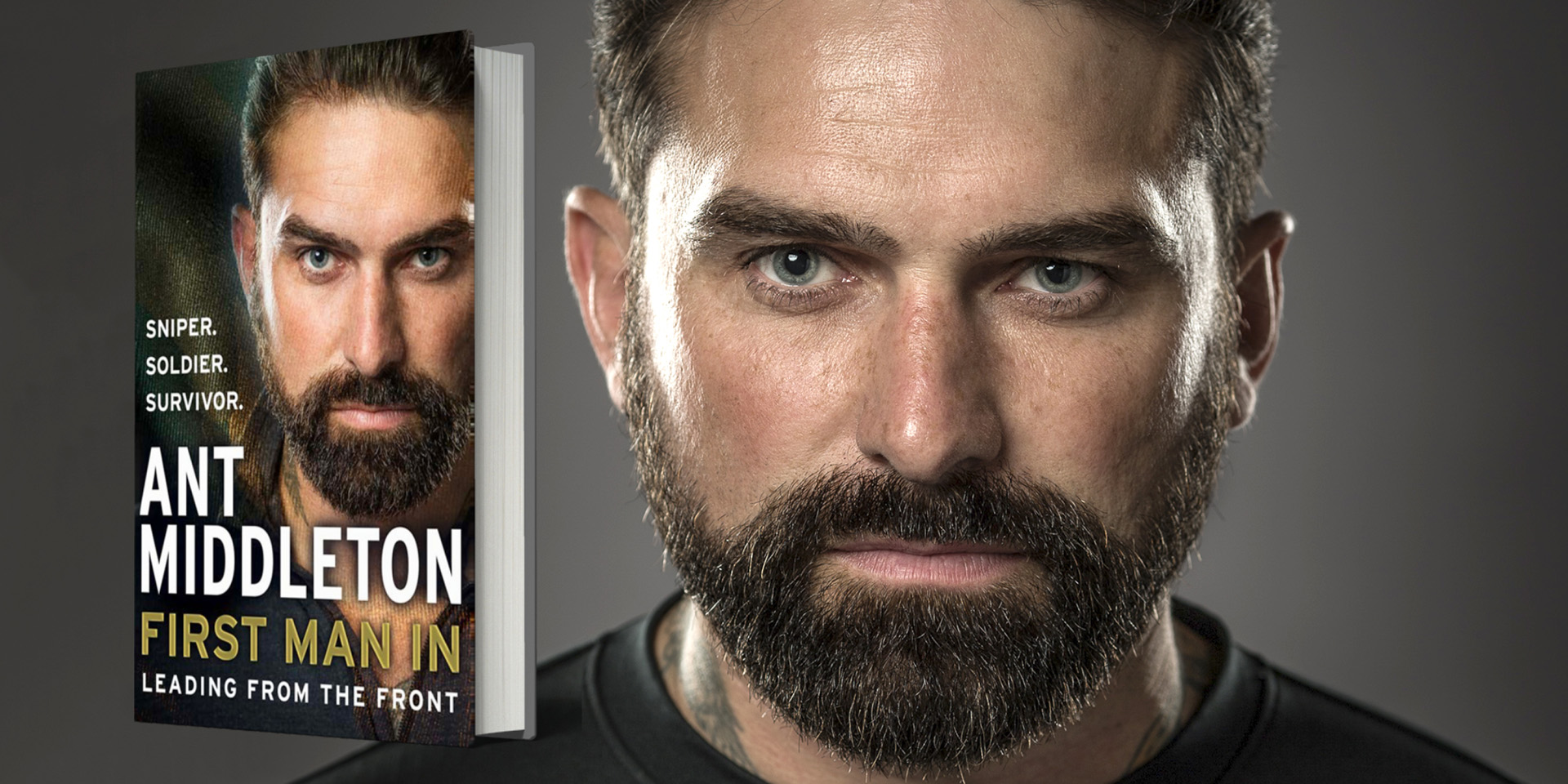 Ant Middleton First Man In book cover