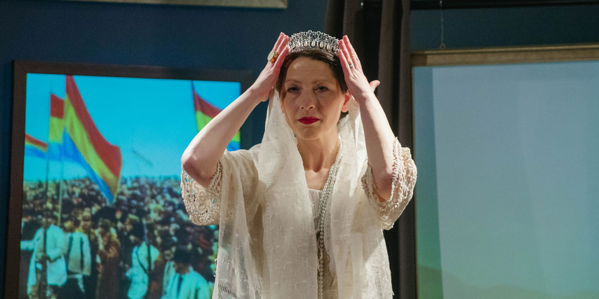 Anca Doczi stars as Queen Marie of Romania