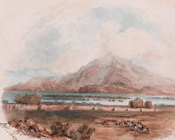 Jalalabad fort, 1842