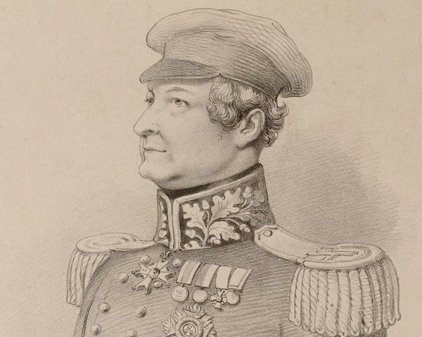 Major-General Sir Robert Sale, c1845