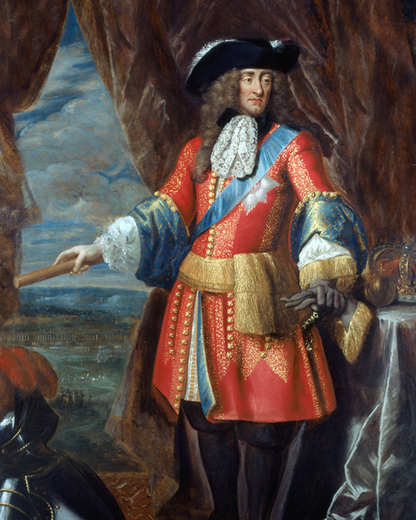 King James II, c1685