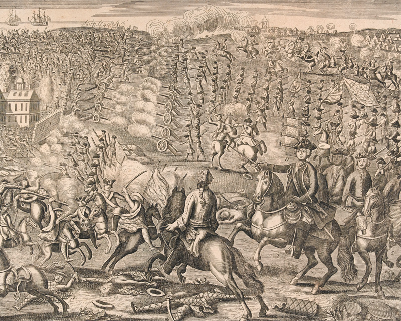 The Battle of Culloden, 1746