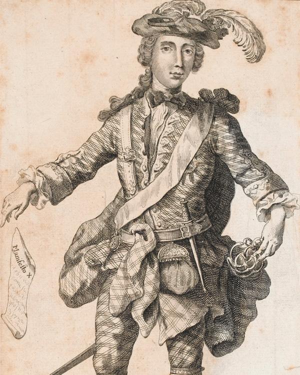 Prince Charles Edward Stuart, 1745