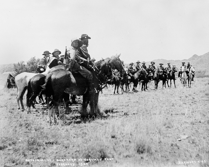 Boer Commandos at Norvalspont in northern Cape Colony, 1900