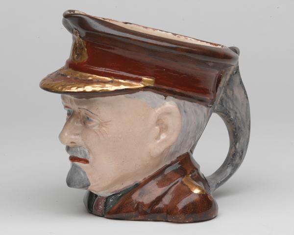 Toby jug depicting Field Marshal Jan Smuts, c1941
