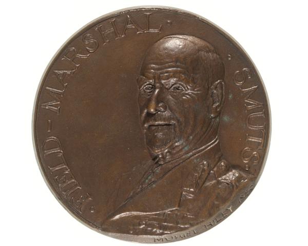 Medal commemorating Field Marshal Jan Smuts, 1950