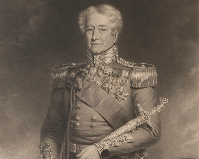 Major General Sir Robert Sale, c1845