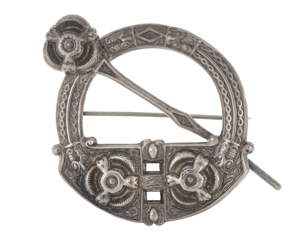 Celtic plaid brooch taken from the body of a Sinn Féin rebel, 1916