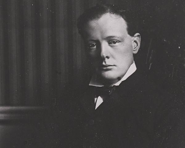 Winston Churchill, c1916