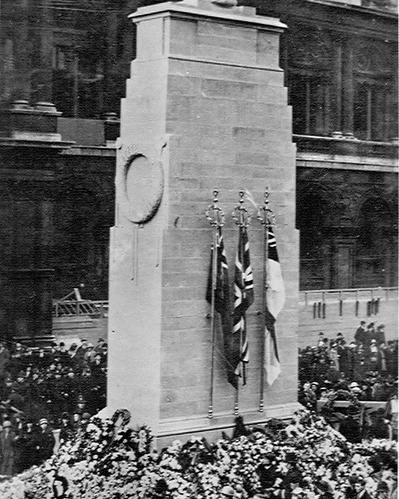 The Cenotaph, London, 11 November 1920