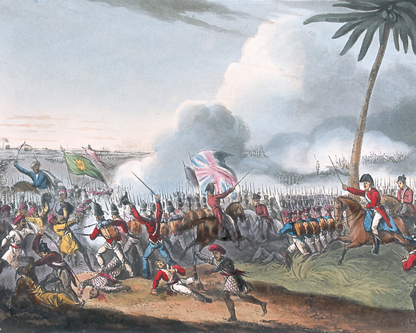 The Battle of Mallavelly, 1799