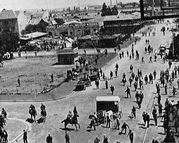 Strike unrest in South Africa, 1914