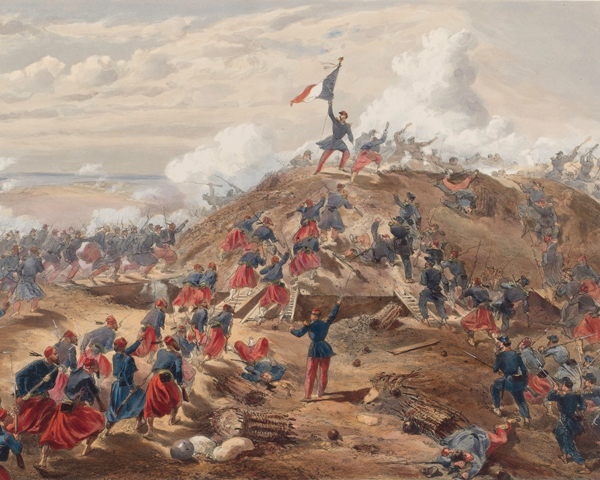 The French attack on the Malakoff, September 1855