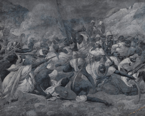 The defeat of the Egyptian Army at El Obeid, November 1883