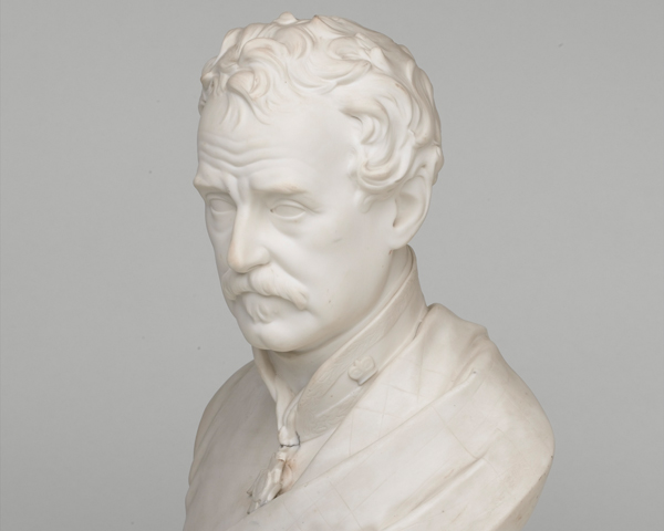 Bust of Lieutenant-General Colin Campbell KCB, 1858